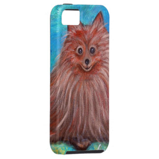 My Pomeranian Dog by Prisarts iPhone 5 Cases