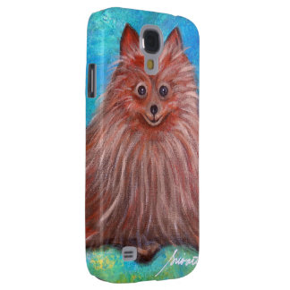 My Pomeranian Dog by Prisarts Galaxy S4 Cover