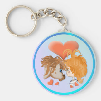 My PonyZ Love Keychain