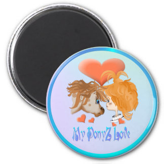 My PonyZ Love Lettered  Magnet