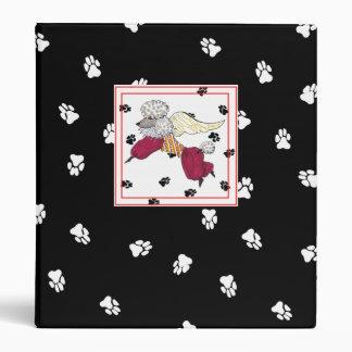 My Poodle's Adventures Album 3 Ring Binders