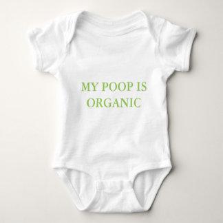 """MY POOP IS ORGANIC"" BABY SUIT BABY BODYSUIT"
