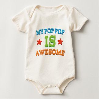 My Pop Pop is Awesome Baby Bodysuit