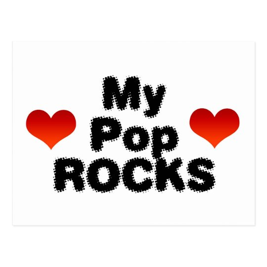 My Pop Rocks Postcard