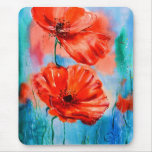 My Poppies in Bloom Mouse Pad