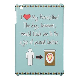 My Porcelaine Loves Peanut Butter iPad Mini Cover
