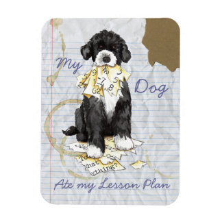 My Portuguese Water Dog Ate My Lesson Plan Magnet