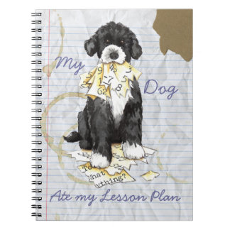 My Portuguese Water Dog Ate My Lesson Plan Notebook