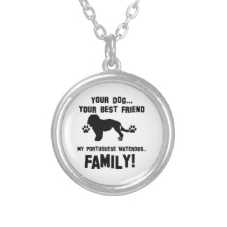 My portuguese waterdog family, your dog just a bes jewelry
