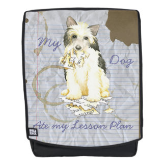My Powderpuff Ate my Lesson Plan Backpack