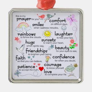 My Prayer For You Christmas Tree Ornament