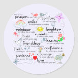 My Prayer For You Classic Round Sticker