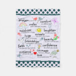My Prayer For You Fleece Blanket at Zazzle
