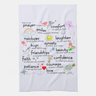 My Prayer For You Hand Towel