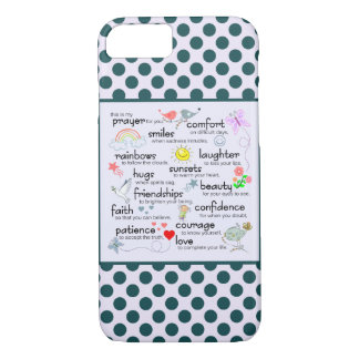 My Prayer For You iPhone 8/7 Case