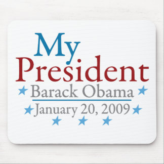 My President Barack Obama Mouse Mats