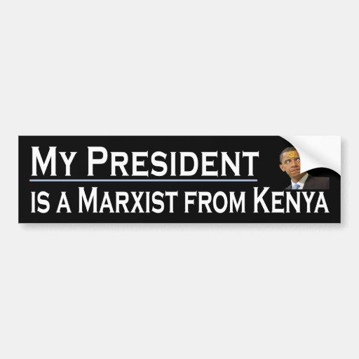 My President Bumper Stickers