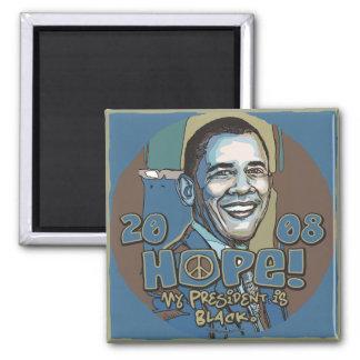 My President is Black Obama Magnet