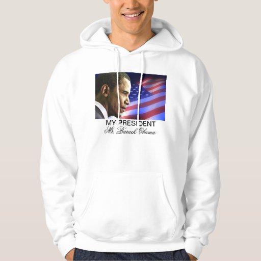 My President Mr. Barack Obama (Patriotic) sweatshi Pullover