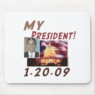 MY President Obama Products Mouse Pads