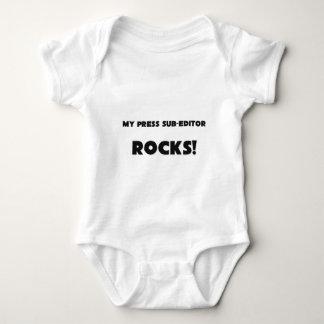 MY Press Sub-Editor ROCKS! T Shirts