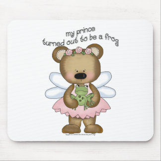 ♥ my prince turned out to be a frog ♥girly giggles mouse pad