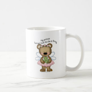 ♥ my prince turned out to be a frog ♥girly giggles classic white coffee mug
