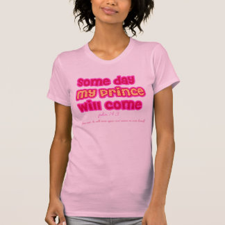my prince will come religious t-shirt