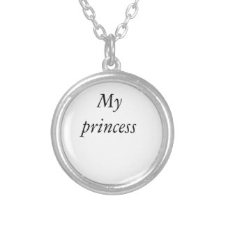 My princess Neckless Silver Plated Necklace