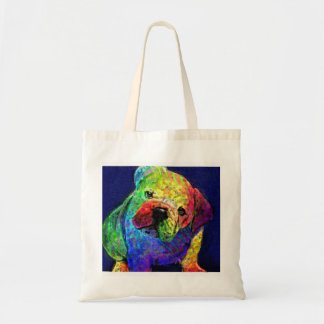 my psychedelic bulldog bag