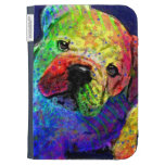 my psychedelic bulldog kindle case