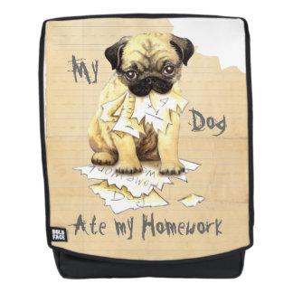 My Pug Ate My Homework Backpack