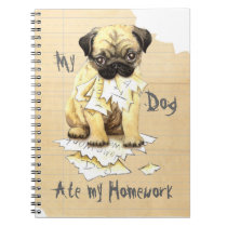 My Pug Ate My Homework Notebook