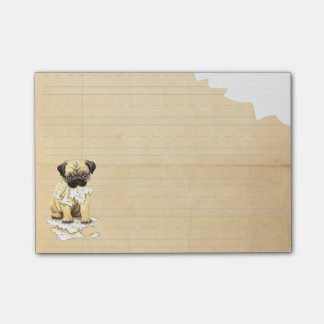 My Pug Ate my Homework Post-it® Notes