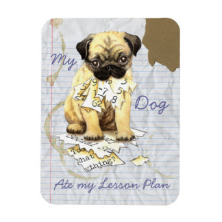 My Pug Ate My Lesson Plan Magnet