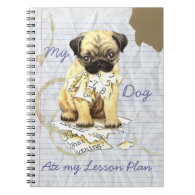 My Pug Ate My Lesson Plan Notebooks