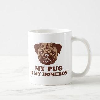 My Pug is my Homeboy Coffee Mugs