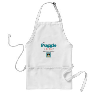 My Puggle is All That! Apron