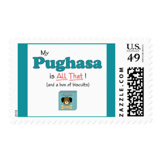 My Pughasa is All That! Stamp