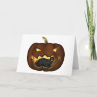 My pumpkin! card