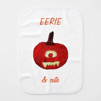 My Pumpkin sketch burp cloth