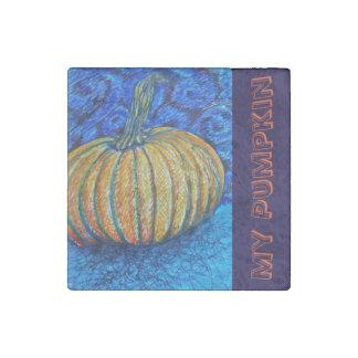 My Pumpkin Stone Magnet