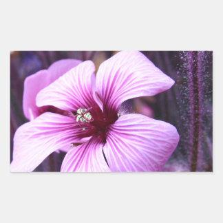 My Purple Dream World Rectangular Sticker