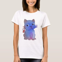 My Purple Vanda Cat Pet T-Shirt