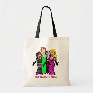 My Quartet Tote Bag