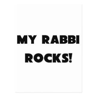 MY Rabbi ROCKS! Postcard