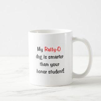 My Rally-O Dog is Smarter... Coffee Mug
