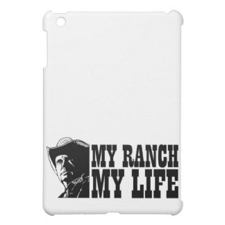My ranch my life, gift for a farmer or rancher iPad mini cover