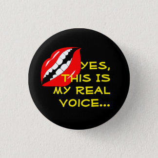 My Real Voice Smart Mouth Button