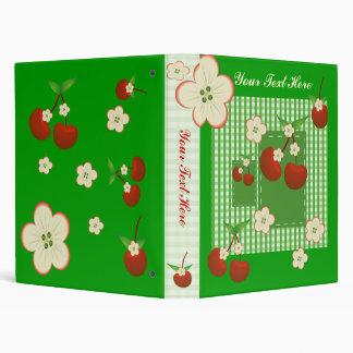 My Recipe Cherry Patch 3 Ring Binder